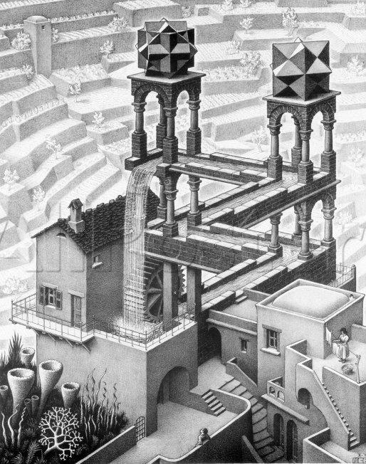 Escher Treppe