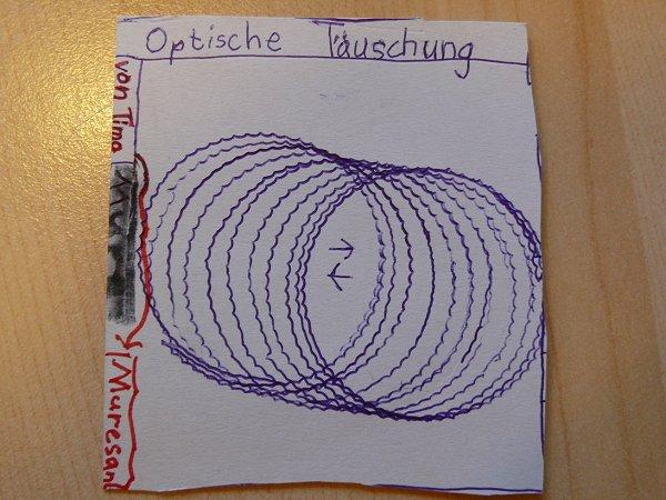 Optische Tauschungen Und Illusionen