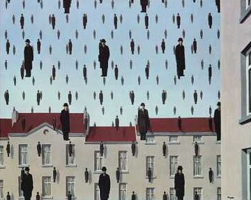 René Magritte, Golconde