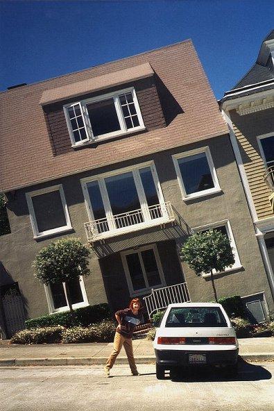 """Schiefe Häuser"" in San Francisco"